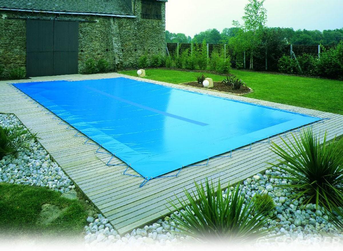 Bache piscine ete sur mesure bche hiver pour piscine bois for Liner sur mesure pour piscine hors sol