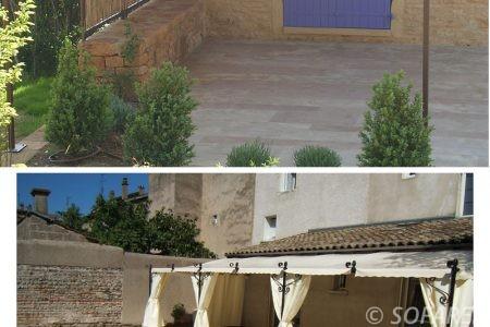 pergola-qualite-professionnelle-particulier-sur-mesure-mesures-vendée-qualité-france-française-Sofareb-local-expérience-structure-particulier-professionnels-protection-solaire-pergola-terrasse-exterieur-design-moderne-jardin-ombre-ombrage-abri-blanc