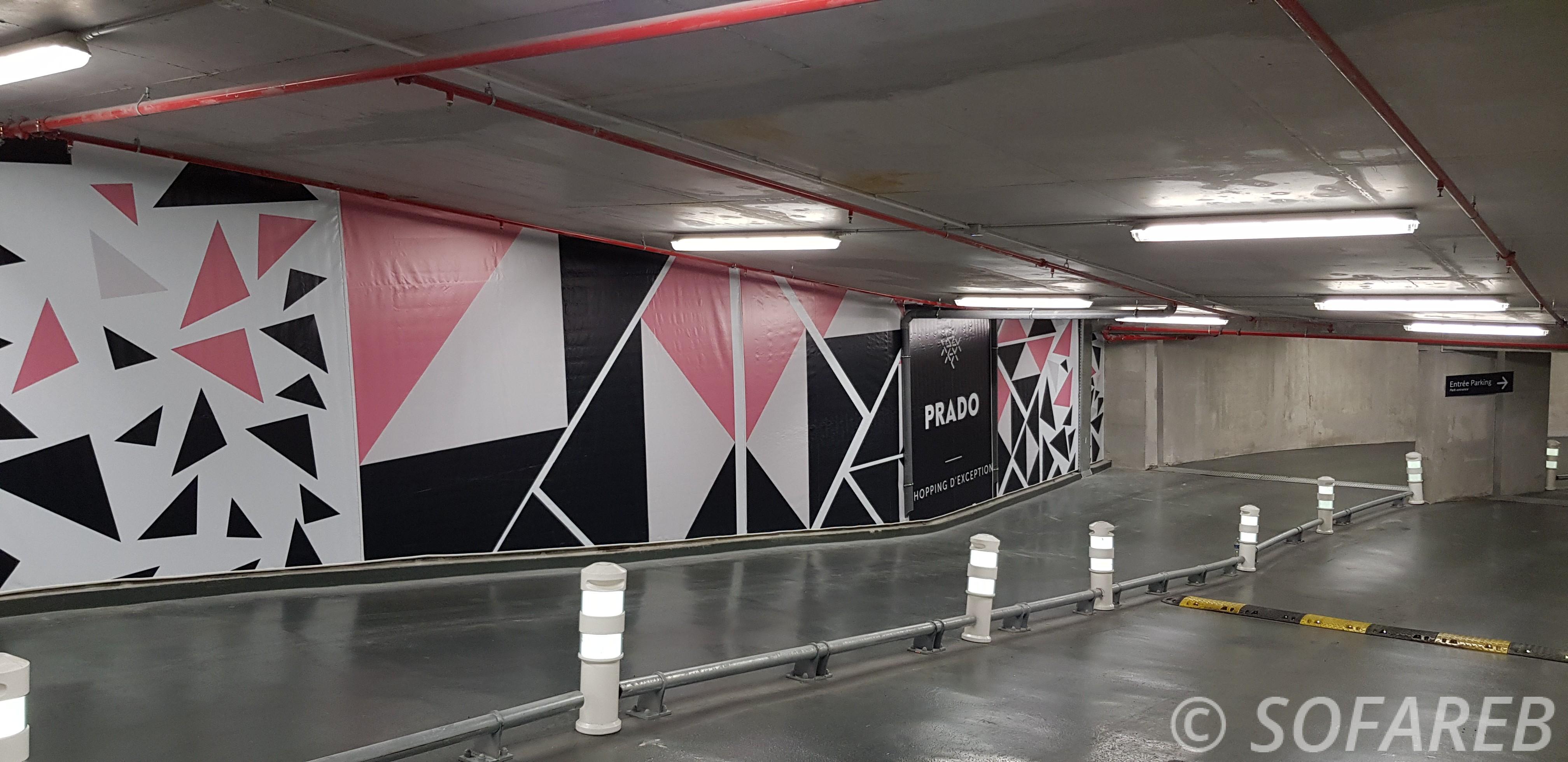 Façade-textile-parking-souterrain-prado