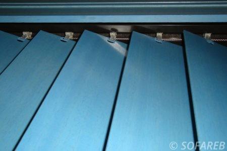 rideau store bleue depliant - interieur