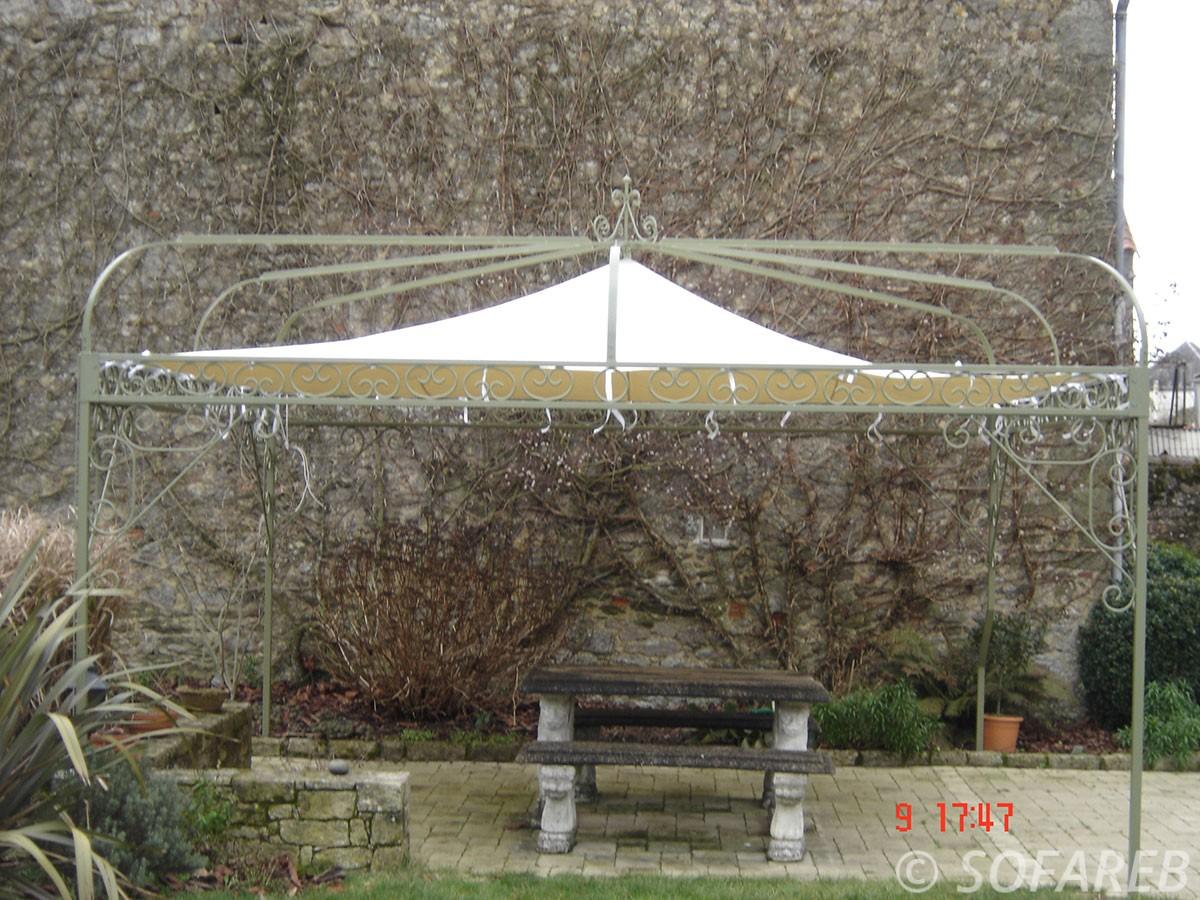 structure metallique exterieure ombrage sofareb