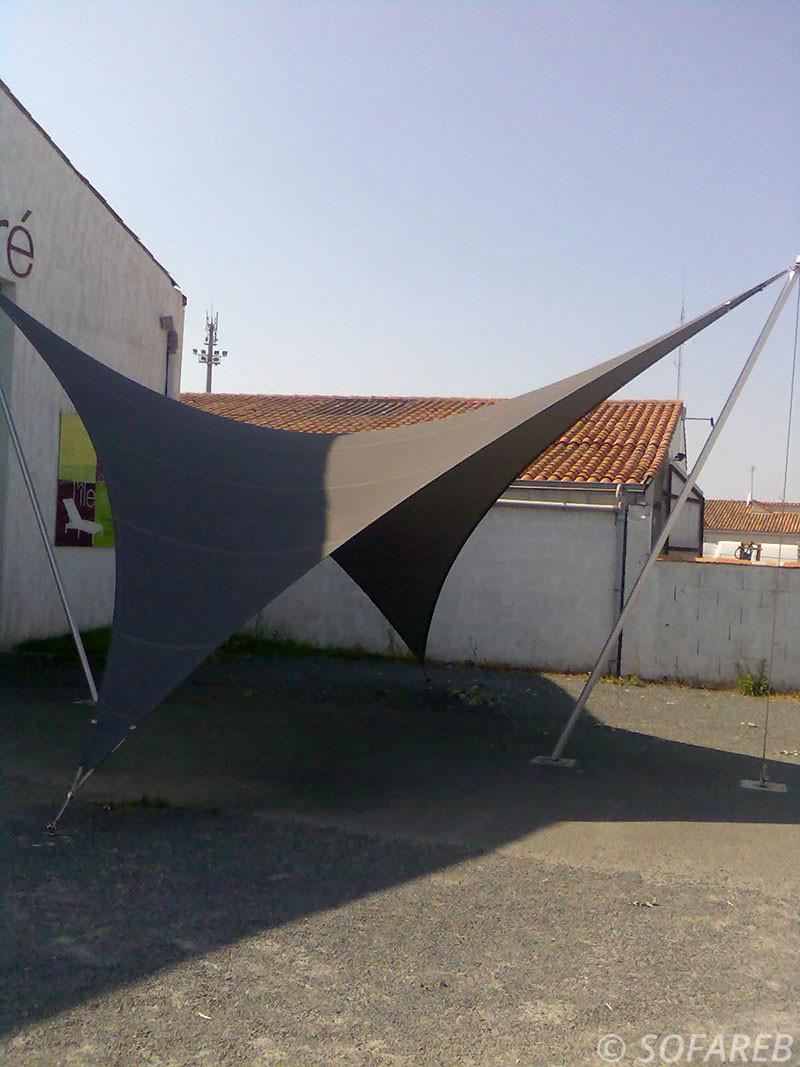 structure ombrage noire creation Sofareb