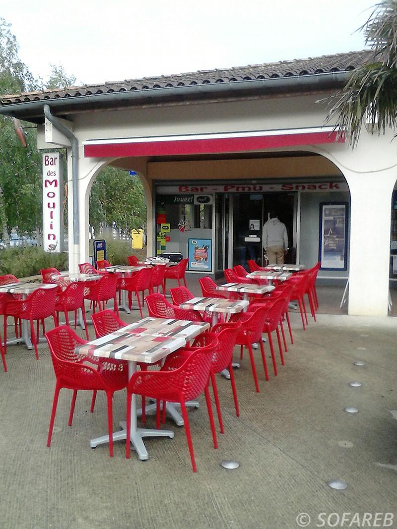 fabricant de store pour restaurant - fabrication vendee store