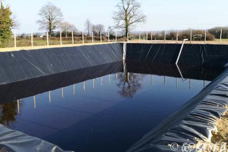 bassin de retentien d'eau
